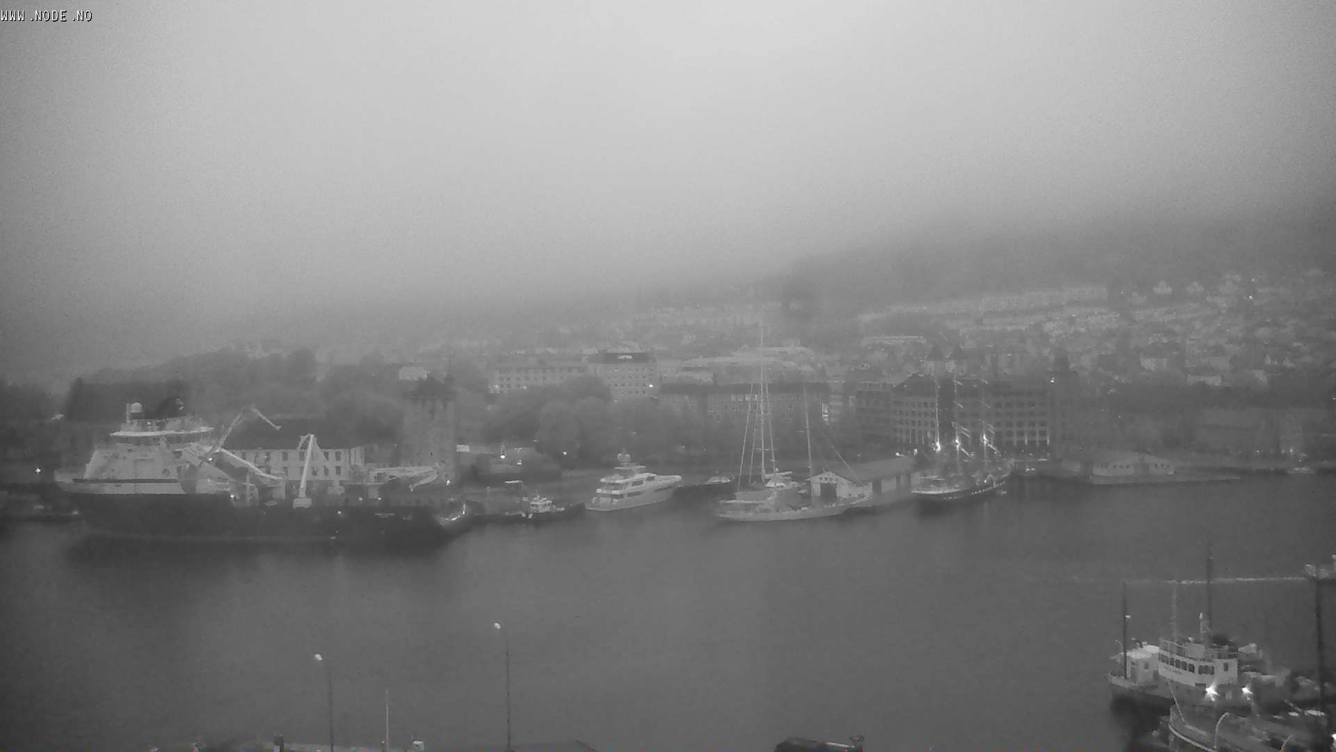Bergen - harbour; fortress